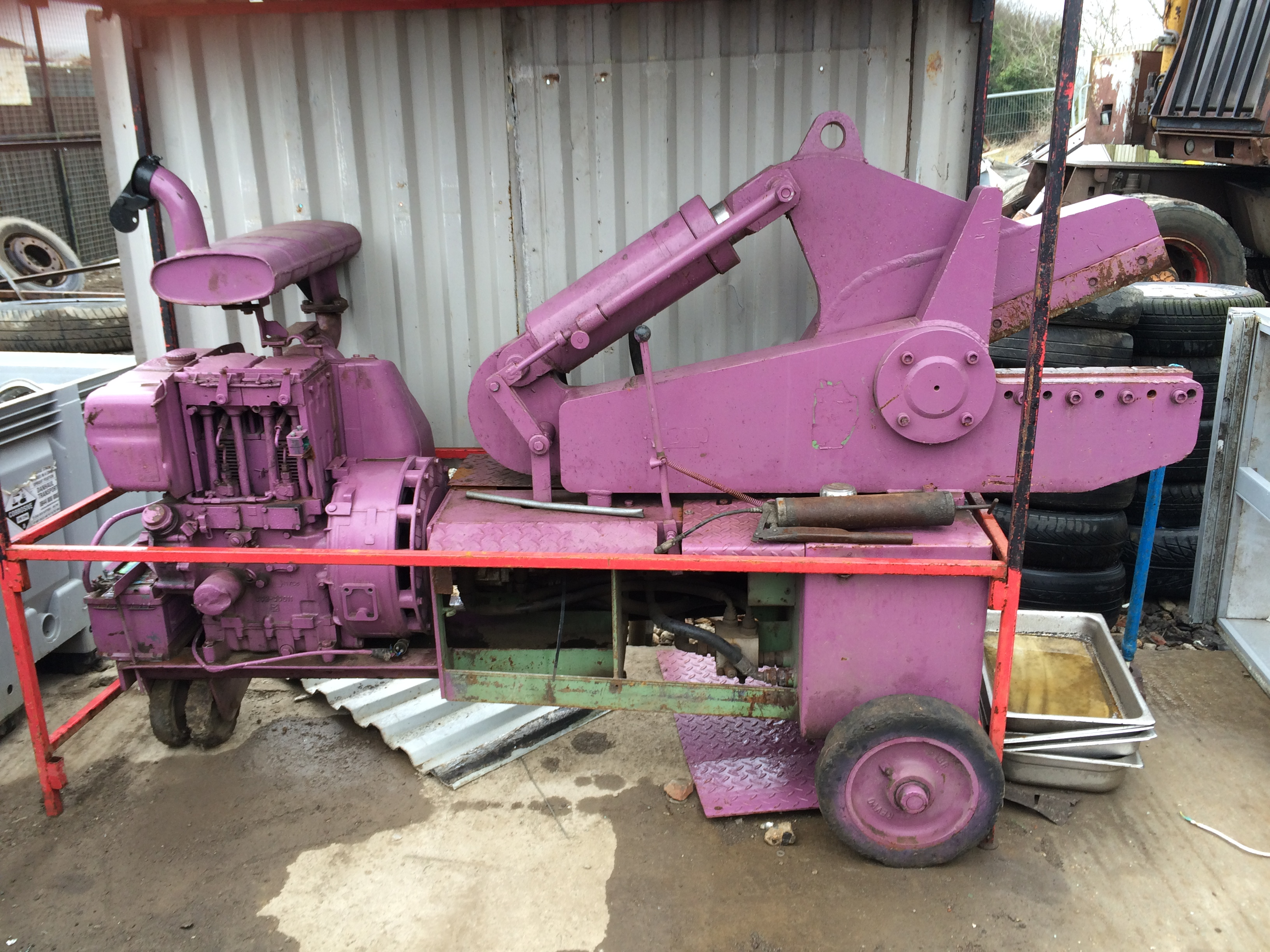 300 mm Diesel alligator shear